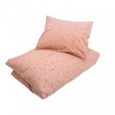 Petit by V baby sengesætlyserød