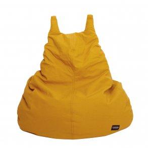 Roommate sækkestol gul