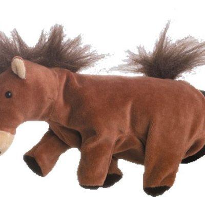 Hånddukke Hest 22 cm