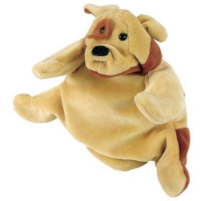Hånddukke Hund 22 cm