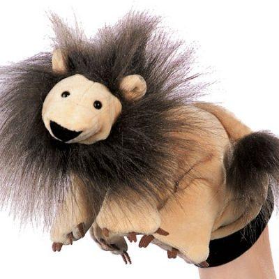Hånddukke Løve 22 cm