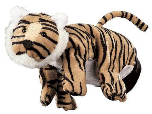 Hånddukke Tiger 22 cm