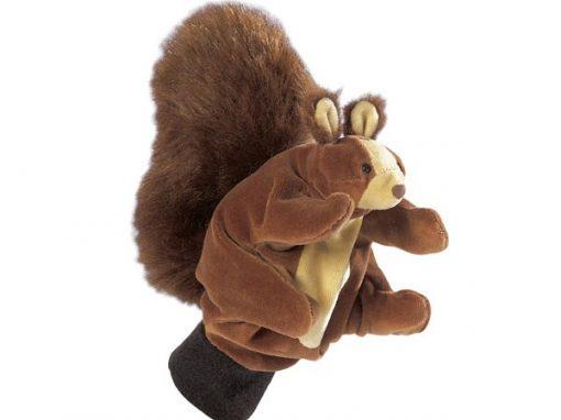 Hånddukke Egern 22 cm