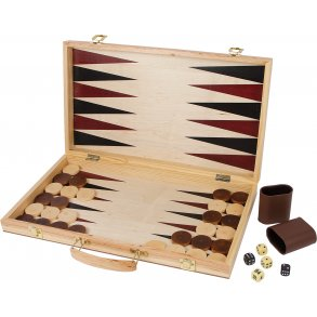 Small foot skak og backgammon
