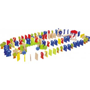 Small foot domino