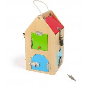 Small foot hus med låse