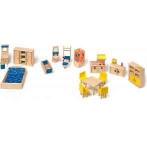 Small foot dukkehus møbler