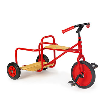 Rose trehulet cykel 4-10 år