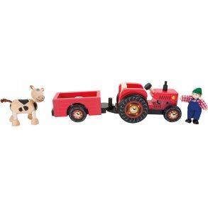Small foot traktor