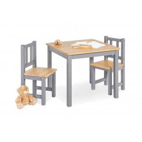Pinolino børnebord og stolesæt