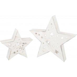 Small foot stjerne med LED Lys